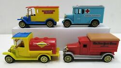 Antique Advertising Toy Cars Trucks New York Times Sunoco Gas Oils 4-lot Used
