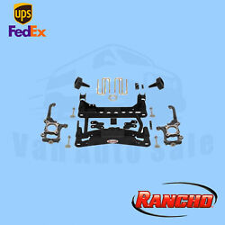 Suspension 4 Fr And 2.5 R Lift Kit Rancho For 2010-2014 Ford F-150 Lariat 4wd