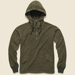Rrl Wwii Inspired Onion Quilted Cotton Jersey Hoodie-men- Xl