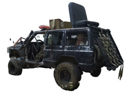 Zombie Hunting Jeep Xj Cherokee Haunted Attraction Prop Display Only