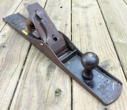 Antique 22 Stanley Bailey No.7 Corrugated Bottom Plane Vintage Woodworking Tool