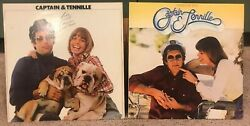 Captain And Tennille Love Will Keep Us Together And Song Of Joy Vinyl Lps - 2lps
