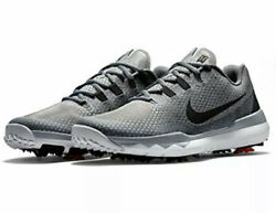 New Nike Tiger Tw 15 Silver Golf Shoes Size 7 Wide Masters Jordan 704885-002