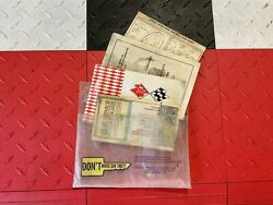 Original First Edition 1969 Chevrolet Corvette Manual Set, Protecto Plate And More