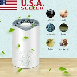 Air Purifier Hepa Filter Home Room Table Smoke Cleaner Eater Indoor Dust Remover