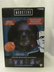 New Gemmy Universal Movie Monsters Led Projection - 6 Slides - Covers 7 Ft