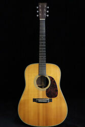 Used Martin Hd-28v 2002 Natural Acoustic Guitar From Japan