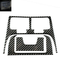 Real Carbon Fiber Rear Seat Ac Air Outlet Vent Trim Covers For Is250 Is350 06-13