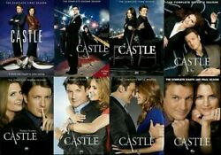 Castle The Complete Tv Series Seasons 1-8 Dvd New Us