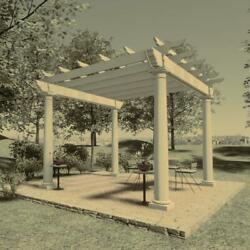 Freestanding Pergola Plans 10and039 X 10and039 Plans Only