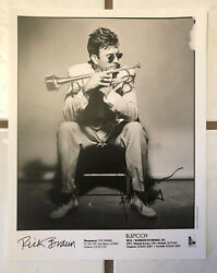 Rick Braun 8 X 10 Promotional Press Photo Signed In-person
