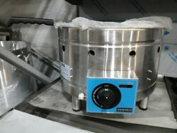 New Lpg Commercial Deep Fryer 43,700 Btu Countertop Round Hose Included 10liter