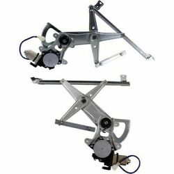 Window Regulator Set For 2005-2009 Subaru Outback Front, Left And Right 2-pcs