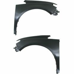 Fender For 2014-2015 Honda Odyssey Set Of 2 Front Left And Right Natural Aluminum