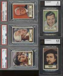 1952 Topps Look N See Ex/ex+ Avg Complete 135 Card Set Mid Grade 64959