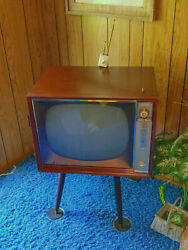 50s Ge Ultra Vision 21t060 Vintage Tube Tv Television General Electric Parts