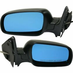 Manual Remote Side View Mirrors Set Of 2 Pair Left Lh And Right Rh For Vw