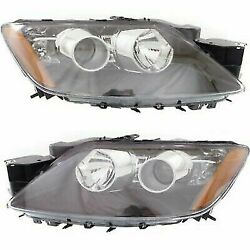 Headlight Set For 2012 Mazda Cx-7 Gt Sport Gs Touring Gx Sv Left And Right Hid