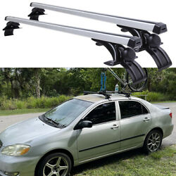 For Toyota Corolla 48 Car Roof Rack Cross Bar Luggage Bicycle Carrier Aluminum