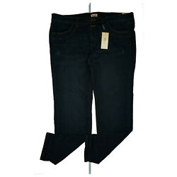 Triangle By S.oliver Ladies Stretch Used Look Plus Size Jeans Trousers W52 L34