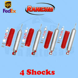 Rancho Rs9000xl Frontandrear 0 Lift Shocks For Ford E-350 2wd 75-91 Kit 4