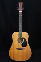 Used Martin 1973 D-12-18 Natural 1973 Acoustic Guitar From Japan