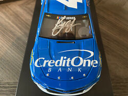 Rare Sold Out Signed 2020 42 Kyle Larson Credit One Bank Din 2 Of 36 Elite