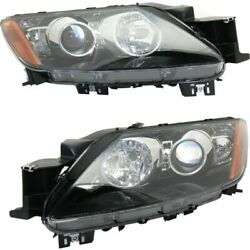 Headlight Set For 2010-2011 Mazda Cx-7 Gt Sport Gs Touring Gx Left And Right Hid