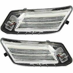 Parking Light For 2010-2013 Volvo Xc60 Set Of 2 Driver And Passenger Side