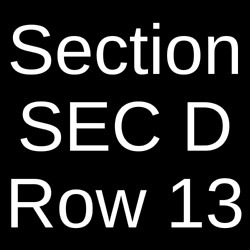 3 Tickets Kenny Chesney 6/25/22 Soldier Field Chicago Il