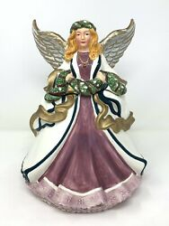 Angel Goddess Cookie Jar Jcpenny Ceramic Vintage Retired 12.5x10 Ginger Onions
