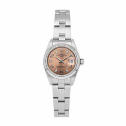 Rolex Oyster Perpetual Auto 26mm Steel Ladies Oyster Bracelet Watch 79160