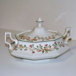 Johnson Brothers Eternal Beau Covered Vegetable Dish With Handles - Like New
