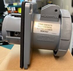 Hubbell Wiring M5100r9 100a 120/208 Vac Dockside Receptacle