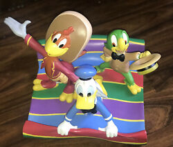 Disney's The Three Caballeros Big Figures Limited Edition By Alex Maher Nwb