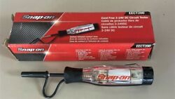 New Snap-on Eect200 Cordless Circuit Tester 3-24v Dc Clear Handle New In Box