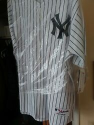 Alex Rodriguez 13 New York Yankees Majestic Authentic Collection Jersey Size 52