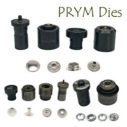 Prym Snap Press Fasteners Fixing Die Set For Sp3 Hand Machine Clothing Purse Bag
