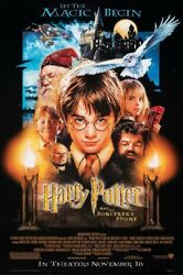 Harry Potter And The Sorcerer's Stone Original Movie Poster Hollywood Posters