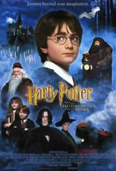 Harry Potter And The Philosopher's Stone Movie Poster Rare Hollywood Posters