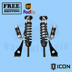 2010-19 Toyota 4runner Travel Remote Reservoir Front Coilover Shock Kit Icon