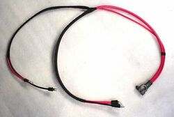 1969-70 B-body Positive Battery Cable Concours 383 440 Mopar Charger Roadrunner