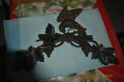 Antique Wooden Cuckoo Clock Topper Needs Repair/glue For Parts Or Project
