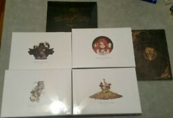 Kingdom Death Monster Pinups Of Death Complete Set 1, 2, 3, 4, And 5 + Satan Twins