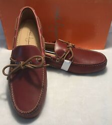 Martin Dingman Osage Saddle Leather Drivers Men's Size 9.5m - New With Box