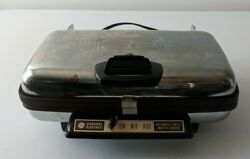 Vintage General Electric Ge Automatic Grill Waffle Iron