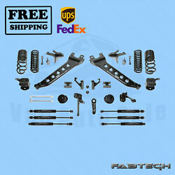7 Radius Arm Sys W/ Coil Springs And Frontandrear Shocks Fabtech For 14-17 Ram 2500