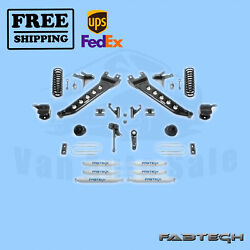 7 Radius Arm Sys W/coil Springs And Front Andrear Shocks Fabtech For 13-17 Ram 3500
