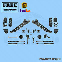 7 Radius Arm Sys W/coil Springs And Stealth Shocks Fabtech For 14-17 Ram 2500 4wd