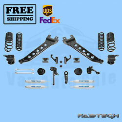 7 Radius Arm Syst W/coil Springs And Shocks Fabtech For 14-17 Ram 2500 4wd